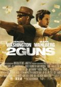 """Постер 4 из 5 из фильма """"Два ствола"""" /2 Guns/ (2013)"""