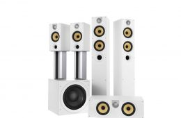 The Bowers & Wilkins 600 series is a new word in speaker design