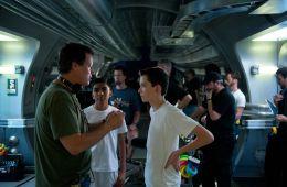 Это Гарри Поттер в космосе!. На съемках «Игры Эндера» (Ник Де Семлин, Empire)
