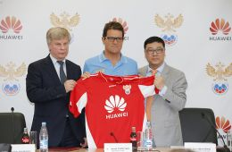 Together with the Russian team in Brazil will go to Huawei