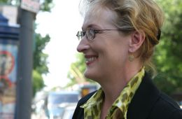 Фоторепортаж: ММКФ-2004: Пресс-конференция Мерил Стрип