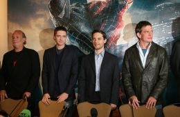 "Photo-report: Press conference on the premiere of the film ""Spider-Man: The Enemy in Reflection"""