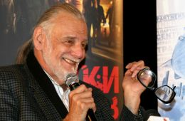 Photo-report: Press conference and interview of George Romero