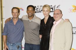 Photo-report: Will Smith and Charlize Theron in Moscow