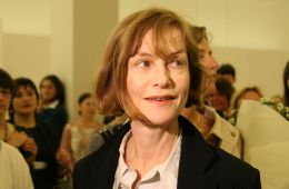 Photo-report: Isabelle Huppert in the Manege