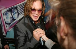 Photo-report: Mickey Rourke in Moscow