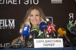 Фоторепортаж: Сара Джессика Паркер в Москве