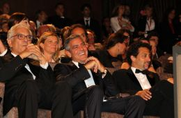 "Photo-report: ""The Ides of March"" in Venice. Venetian Film Festival"