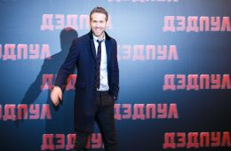 "Photo-report: Ryan Reynolds presented the film ""Deadpool"" in Moscow"