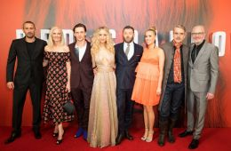 "Photo-report: Premiere of the film ""The Red Sparrow"""