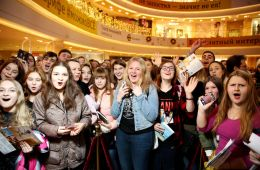 """Photo-report: In Moscow, the premiere of the cartoon """"The Ballerina"""""""