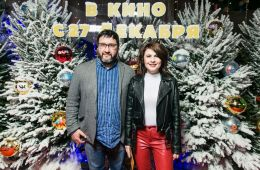 "Photo report: The gala premiere of the movie ""Fir Trees"" was held in Moscow"