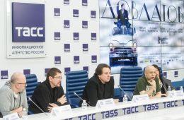 Фоторепортаж: Пресс-конференция фильма Алексея Германа-мл. «Довлатов»