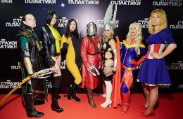 "Photo-report: Moscow premiere of ""Guardians of the Galaxy"""