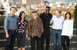 "Photo-report: Photocall of the film crew of the film ""Inferno"""