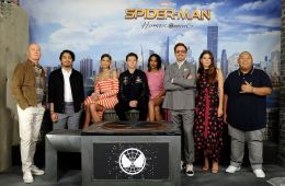 "Photo-report: Photocall and the press-conference of the film ""Spider-Man: Returning Home"" in New York"
