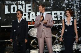 "Photo-report: World premiere of the film ""The Lone Ranger"""