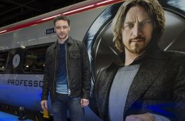 "Photo-report: In London, launched the train ""X-Men"""