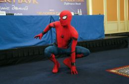 "Photo-report: ""Spiderman: Returning Home"" in Moscow"