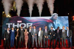 Фоторепортаж: Премьера фильма «Тор 2: Царство тьмы» в Лос-Анджелесе