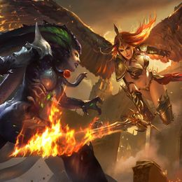 On whose side are you in the battles of the League of Angels II?