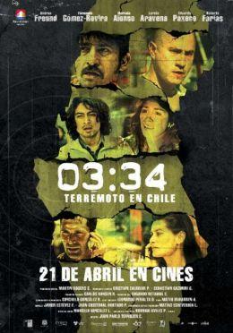 """Постер к фильму """"03:34 Землетрясение в Чили"""" /03:34 Terremoto en Chile/ (2011)"""