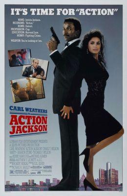 """Постер к фильму """"Боевик Джексон"""" /Action Jackson/ (1988)"""