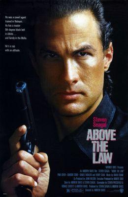 """Постер к фильму """"Над законом"""" /Above The Law/ (1988)"""