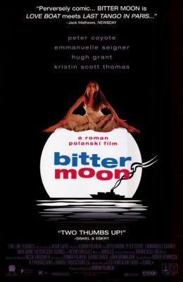 """Постер к фильму """"Горькая луна"""" /Bitter Moon/ (1992)"""