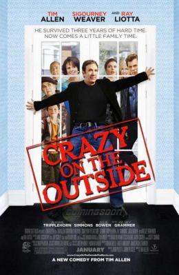 "Постер к фильму ""Сумасшедший на воле"" /Crazy on the Outside/ (2010)"
