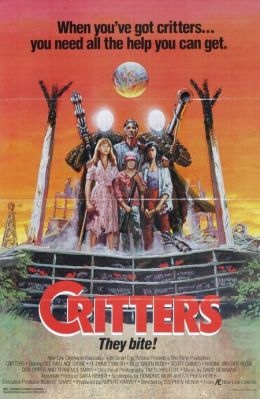 "Постер к фильму ""Зубастики"" /Critters/ (1986)"