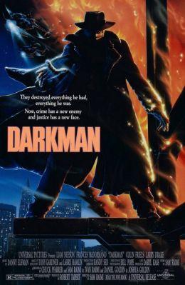 """Постер к фильму """"Человек тьмы"""" /Darkman/ (1990)"""