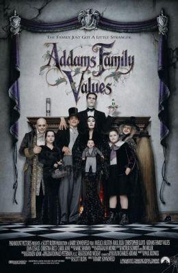 """Постер к фильму """"Ценности семейки Адамс"""" /Addams Family Values/ (1993)"""