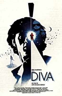 """Постер к фильму """"Дива"""" /Diva/ (1981)"""