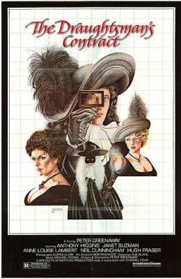 """Постер к фильму """"Контракт рисовальщика"""" /The Draughtsman's Contract/ (1982)"""