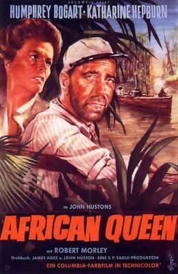 """Постер к фильму """"Африканская королева"""" /The African Queen/ (1951)"""