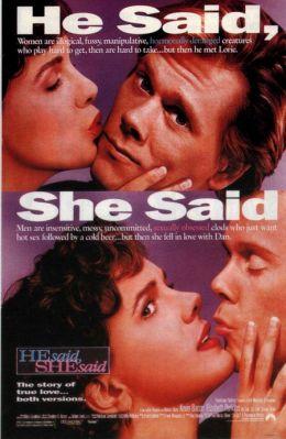 "Постер к фильму ""Он сказал, она сказала"" /He Said, She Said/ (1991)"