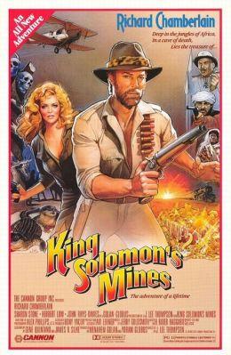 """Постер к фильму """"Копи Царя Соломона"""" /King Solomon's Mines/ (1985)"""