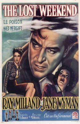 """Постер к фильму """"Потерянный уик-энд"""" /The Lost Weekend/ (1945)"""