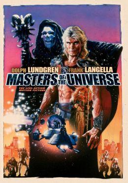 """Постер к фильму """"Властелины Вселенной"""" /Masters of the Universe/ (1987)"""