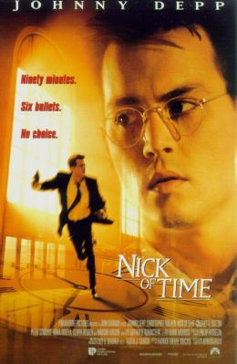 """Постер к фильму """"В последний момент"""" /Nick Of Time/ (1995)"""