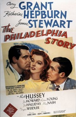 """Постер к фильму """"Филадельфийская история"""" /The Philadelphia Story/ (1940)"""