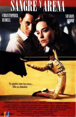 """Постер к фильму """"Кровь и песок"""" /Sangre y arena/ (1989)"""