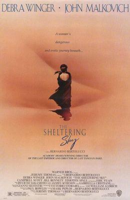 "Постер к фильму ""Под покровом небес"" /The Sheltering Sky/ (1990)"