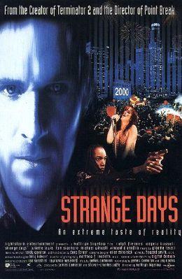 """Постер к фильму """"Странные дни"""" /Strange Days/ (1995)"""