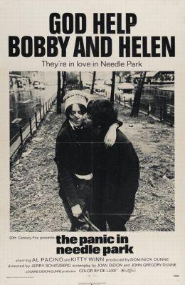 """Постер к фильму """"Паника в Нидл-парке"""" /The Panic in Needle Park/ (1971)"""