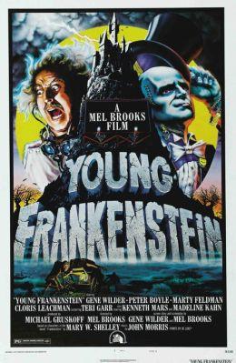 """Постер к фильму """"Молодой Франкенштейн"""" /Young Frankenstein/ (1974)"""