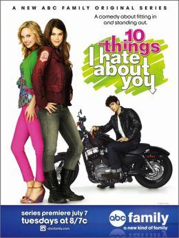 """Постер к фильму """"10 причин моей ненависти"""" /10 Things I Hate About You/ (2009)"""