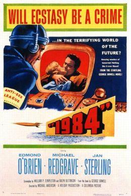 """Постер к фильму """"1984"""" /1984/ (1956)"""
