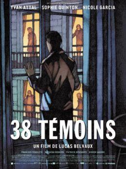 """Постер к фильму """"38 Свидетелей"""" /38 temoins/ (2012)"""
